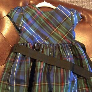 Ralph Lauren navy plaid dress
